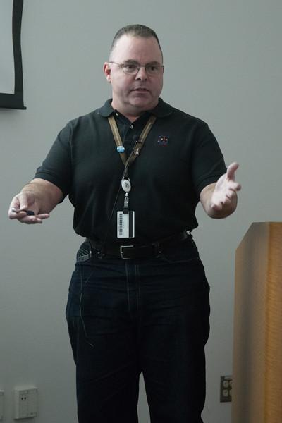 Jim McDonnell -- LISA Pathfinder Launch Party & Seminar, Dec 4, 2015, NASA/GSFC.