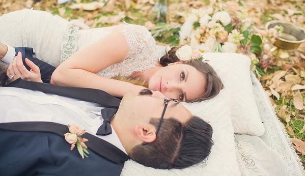 Dan & Tiffani // Monopoly inspired wedding