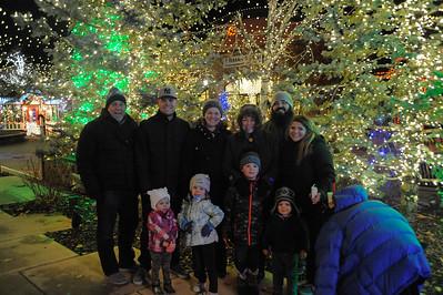 2016-12-16 Santa and Riverwoods Lights
