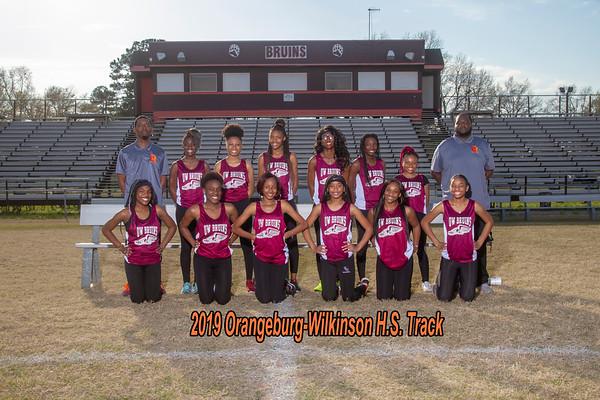 2019 girls Track