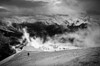 """Last Climb"" VIII, East end of Mount Rundle, Alberta, Canada."