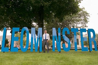 LEOM NISTER sign, September 6, 2019