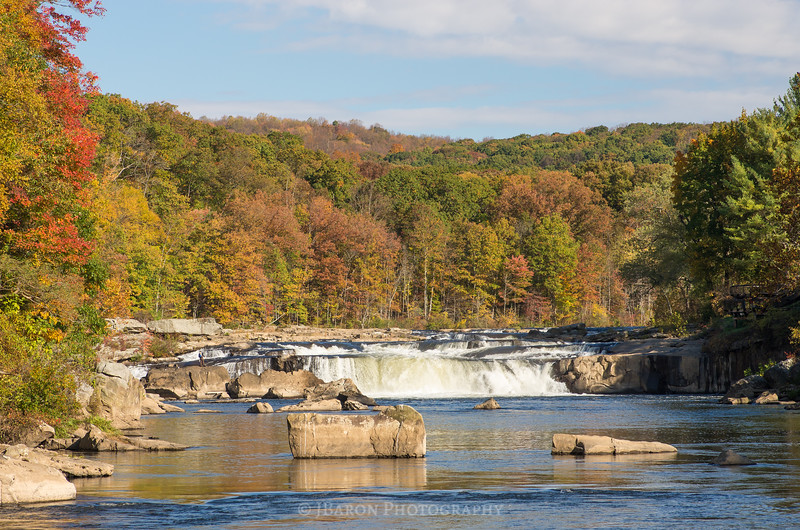 Ohiopyle Falls in Autumn