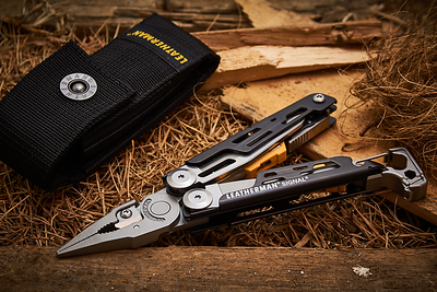 Fotos dos alicates e canivetes Leatherman para Crosster / 2019