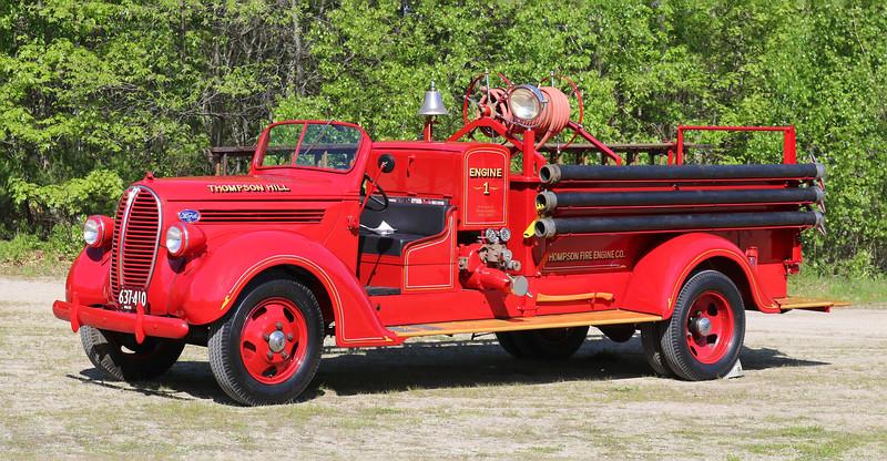 Retired   Engine 1   1938 Ford / Maxim   500 GPM