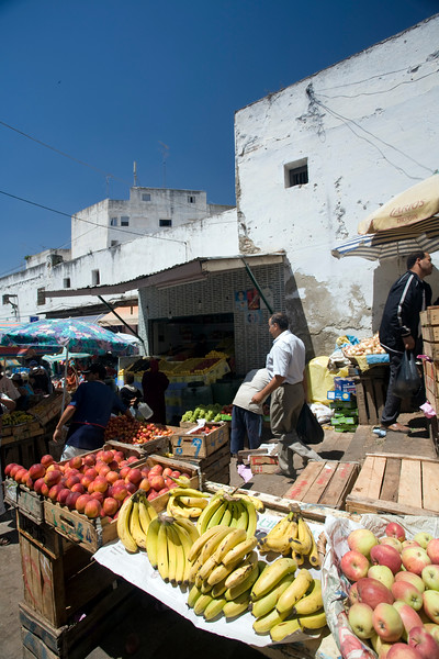 Fruit for sale in the medina souk, Tetouan, Morocco