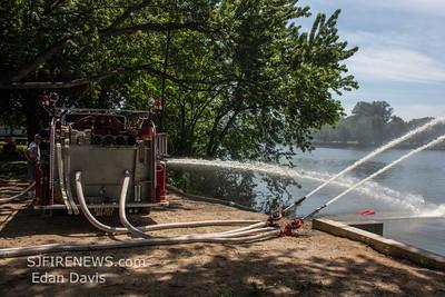 08/02/2015, CLAFAA Antique Fire Muster, Cooper River Park, Pennsauken NJ