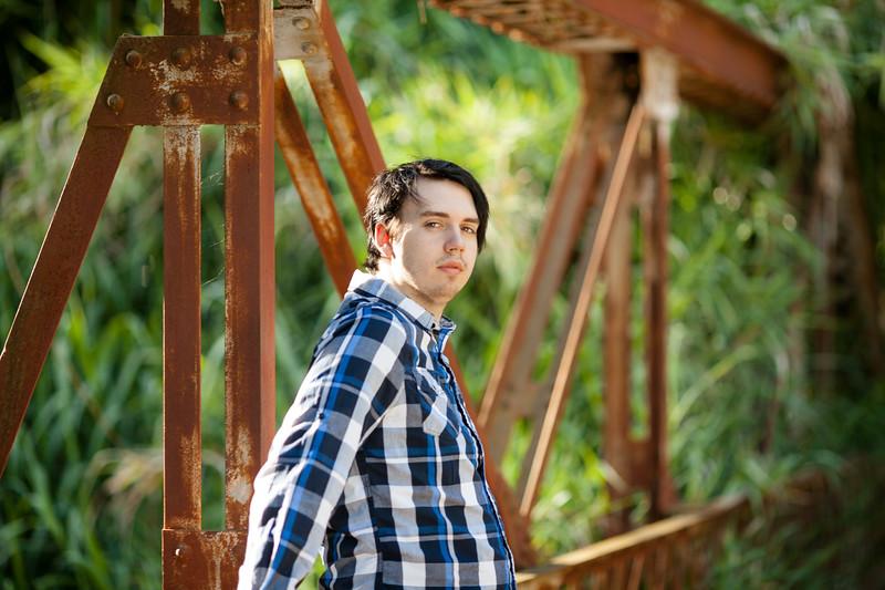 senior photographer, high school senior photography, senior photos, portraits, Northern California, Linden, kristine stepping photography, senior photo ideas, senior guy,  rustic bridge