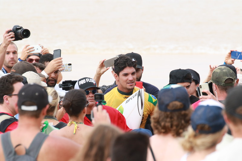Gabriel Medina, BRA, Pipemasters and World Champion of Surfing 2018
