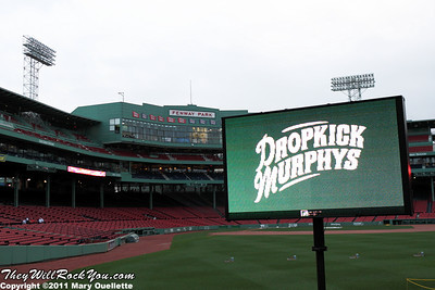 Dropkick Murphys <br> September 8, 2011 <br> Fenway Park - Boston, MA <br> Photos by:  Mary Ouellette