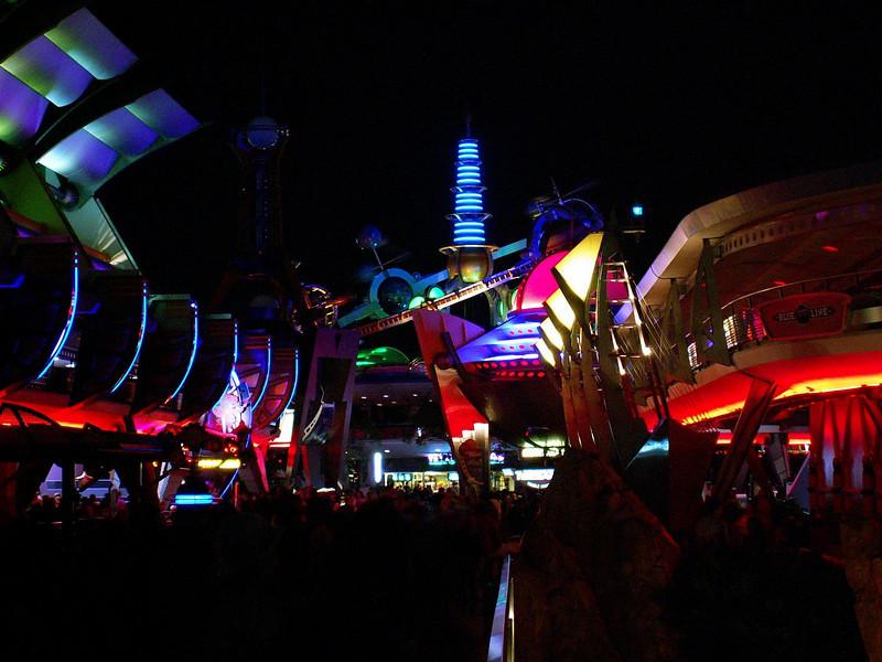 Tomorrow Land at Magic Kingdom, Florida.