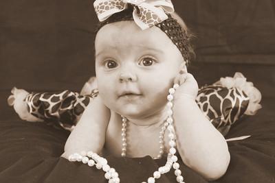 Josie 6 months 1-30-13