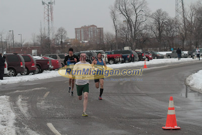 5K at 1 Mile mark - 2012 Fifth Third New Years Eve Run