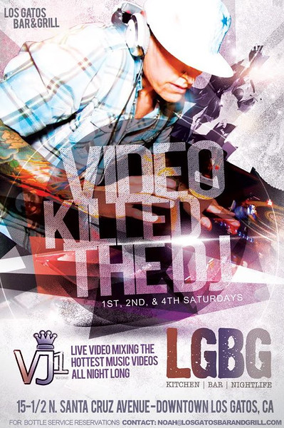VIDEO KILLED THE DJ W/ VJ1 @ LGBG 11.21.15