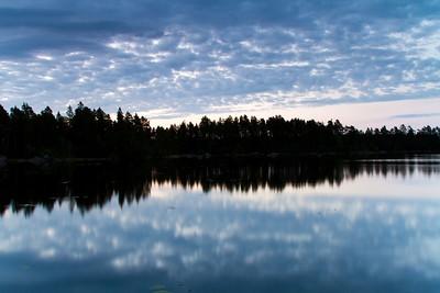 Sunrise over Degeträsk