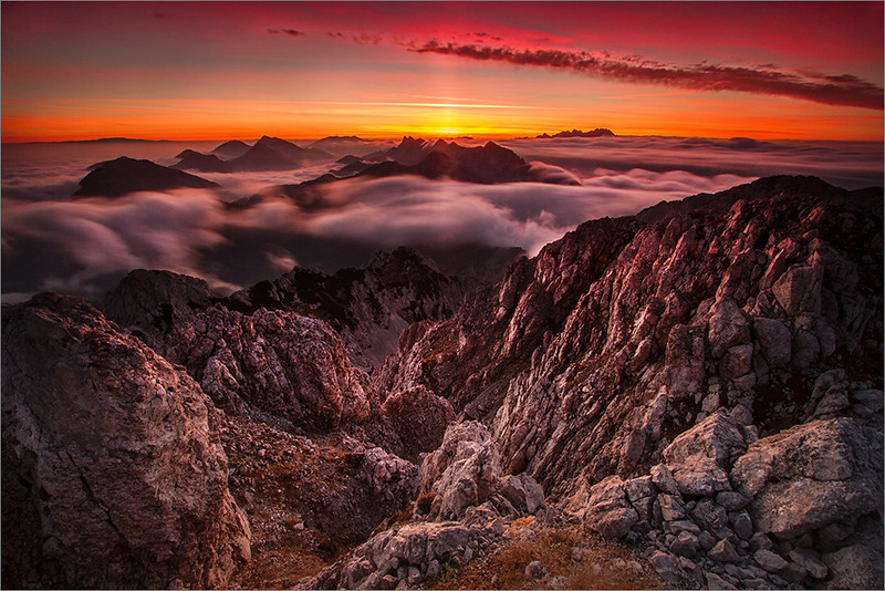 Sunrise on Vrtača