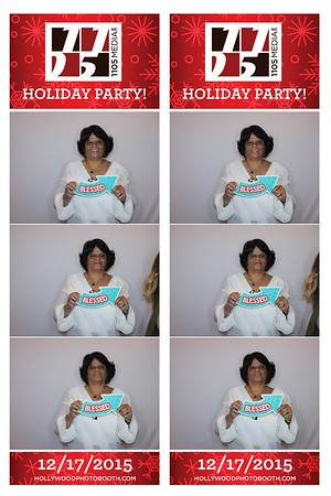 1105 Holiday Party - 12/17/15