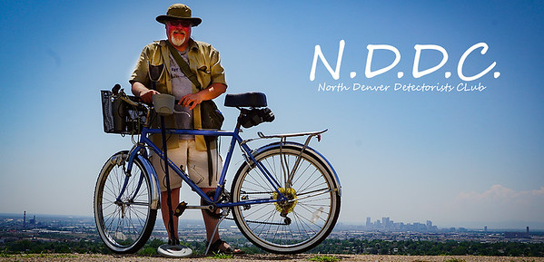 NDDC (North Denver Detectorists Club).  Inspired by the BBC TV show The Detectorists, I bought a used Discovery 1100 detector off Craigslist for $30.   These are the treasure hunting adventures so far.  (Some have links to my YouTube videos)