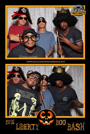 MWR Liberty Boo Bash Photo Booth