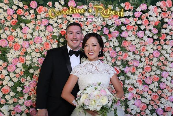 Caroline and Robert Wedding Photobooth Prints