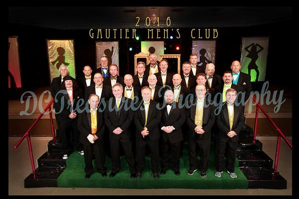 Gautier Men's Club 2016 Posed