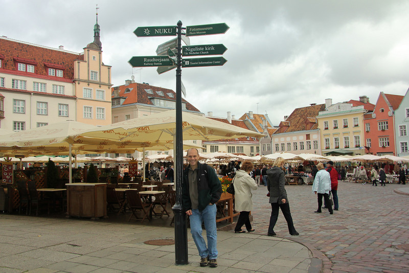 Town Hall Square, Old Town -Tallinn, Estonia