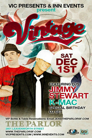 Vintage @ The Parlor 12.1.12