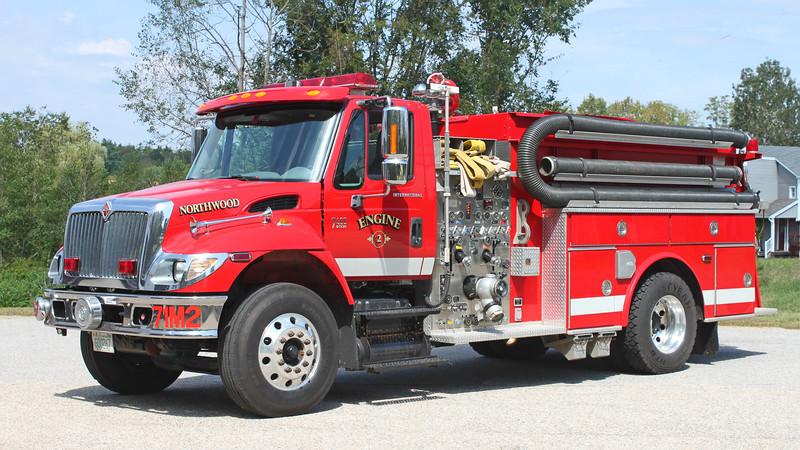 Engine 2.  2014 International / Valley.  1750 / 1000