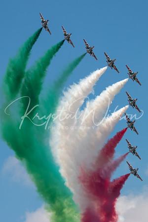 Frecce Tricolori Aerobatic Team