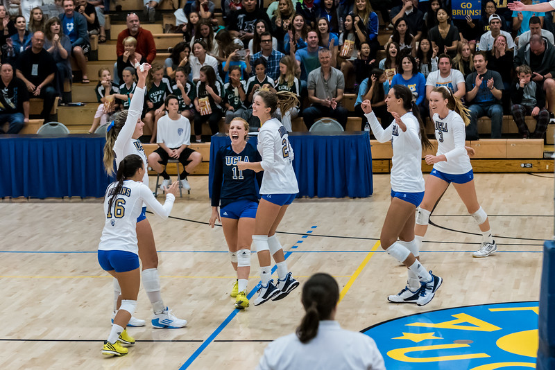 UCLA Women's Volleyball vs. Washington State @ Collins Court, Wooden Center