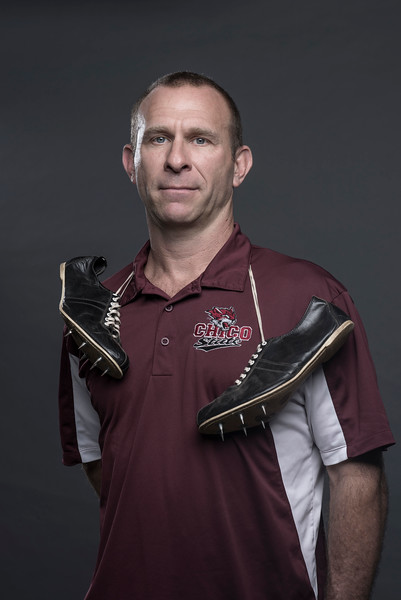 Men's Head Track & Field Coach Oliver Hanf Athletics Department photographed on Thursday, August 28, 2014 in Chico, Calif.  (Jason Halley/University Photographer)