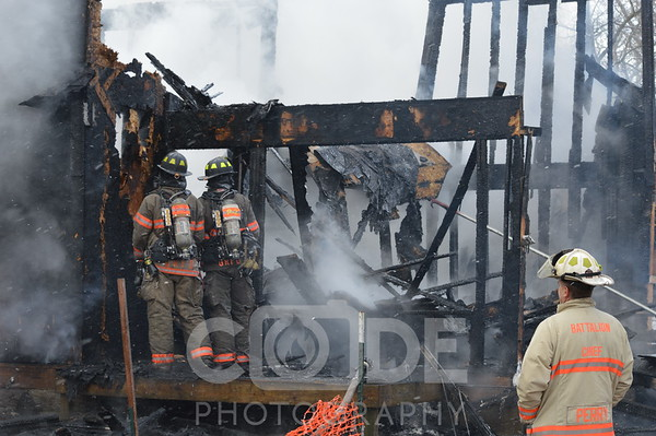 Vacant House Fire (1-10-16)