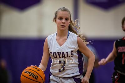 Basketball (7th & 8th Grade) vs Crossings, January 27