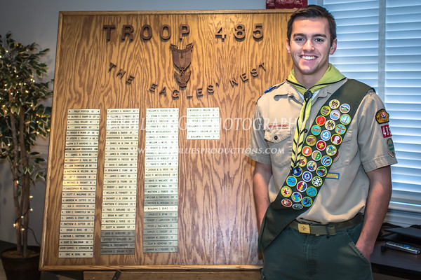 Eagle Scout Ceremony - 10 Jan 2015