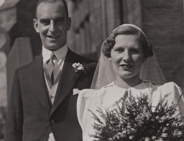 Yorkshire wedding 1937