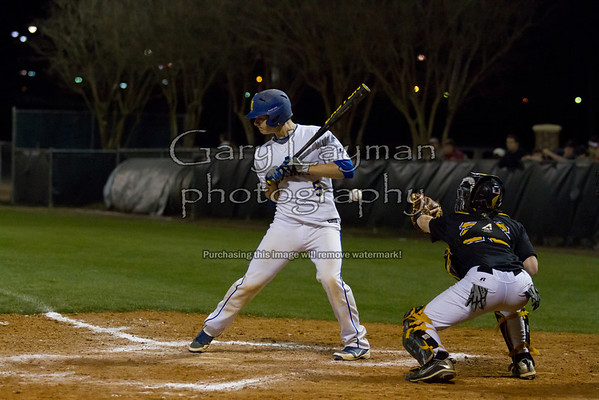 Mantachie Baseball vs IAHS at ICC 3-12-12