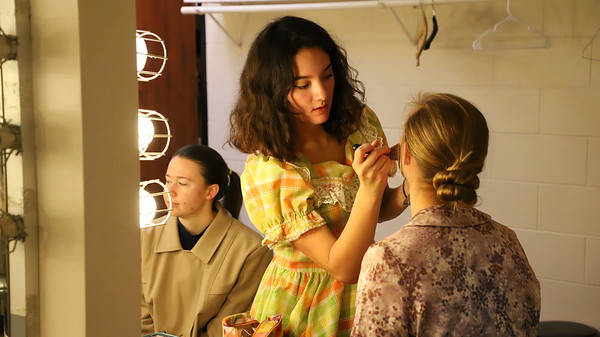 Backstage at 'You Can't Take it with You' - KCHS - Nov 2018