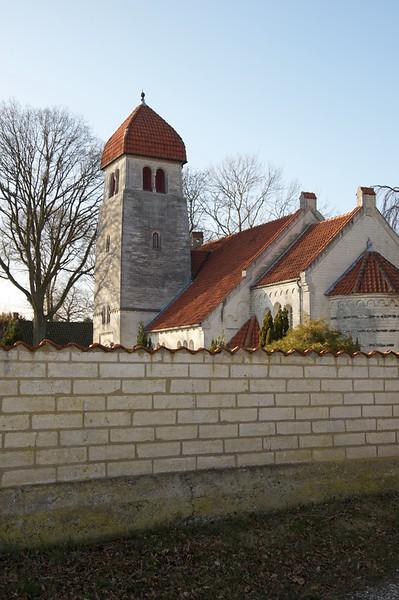 Vid Stevns Klint  Christian Richardt (1831-1892)