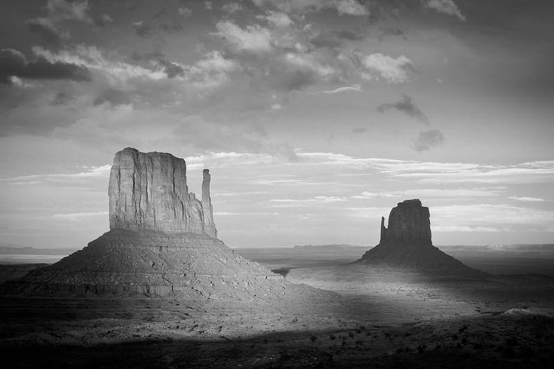 Mittens, Monument Valley, Arizona, USA