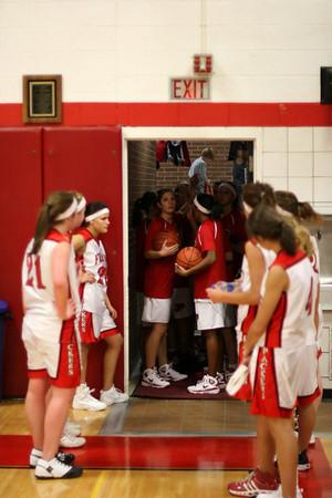 Girls Varsity Basketball - 2008-2009 - 12/8/2008 Montague