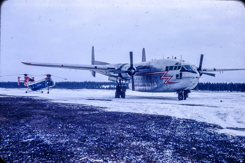 Fairchild C-119 à Shefferville.