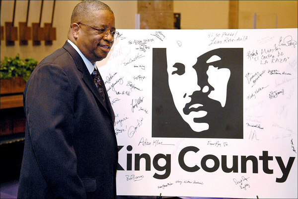 King County Logo Unveiling at Mt. Zion Baptist Church, March 11, 2007