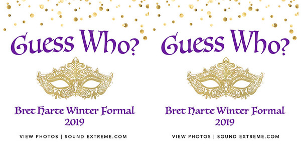 Bret Harte Winter Formal 1/12/19
