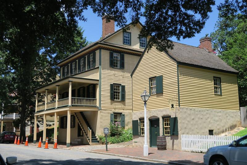 Butner House & Hat Shop (ca. 1829 & 1825)
