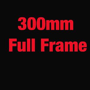 CANON 1DX FULL FRAME 300MM