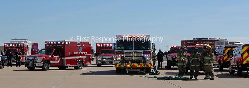 Dallas TX. Love Field MCI Drill 11/2/19