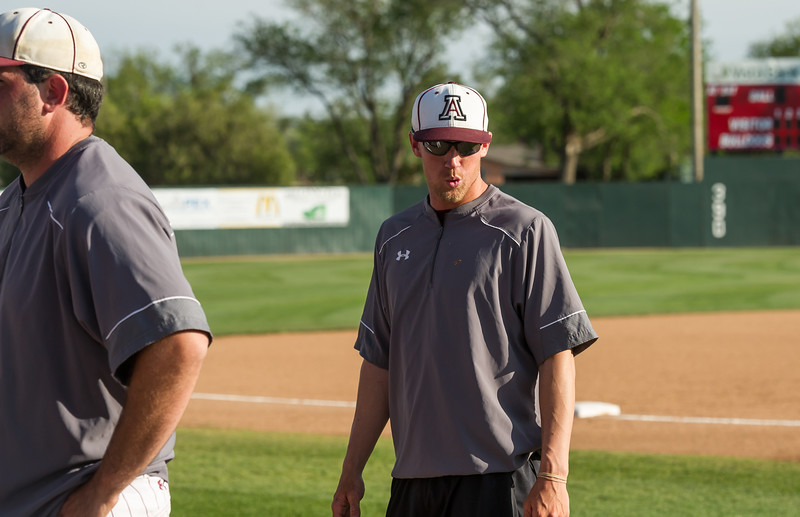 Antelope Baseball vs Gruver, Area Playoffs, 5-12-2016