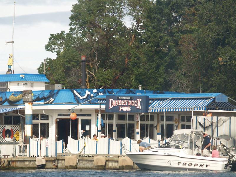 The Dinghy Dock Pub