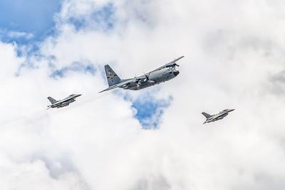 Air National Guard Flyover 5-6-20