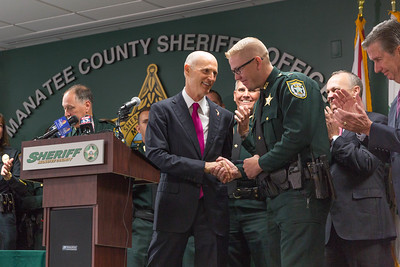 3-19-18 Bill Signing to Combat Opioid Abuse at Manatee County Sheriff's Office